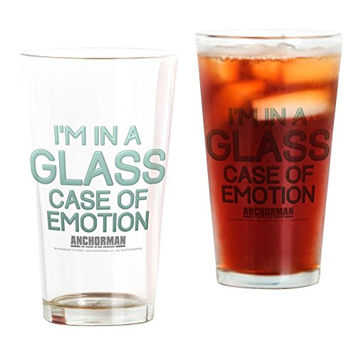 CafePress Glass Case Of Emotion Pint Glass, 16 oz. Drinking -