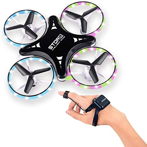 ARESAT Mini Drone for Kids and Beginners, 2.4G Gravity Sensor Hand Controlled Indoor RC Drones Infrared Obstacle…