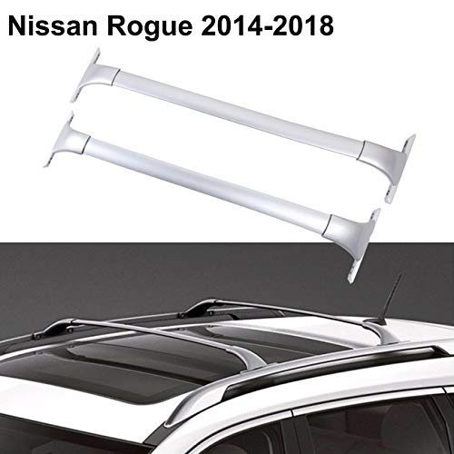 ALAVENTE Roof Rack for Nissan Rogue 2014-2018, Heavy Duty Cross Bars Top Roof Rail Roofrack Cargo Luggage Carrier (Pair, -