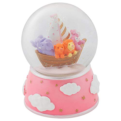Elanze Designs Sleepytime Dreams Animal Ark Musical Figurine 100MM Water Globe Plays Tune It