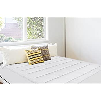 Amazon Com Dormire Overfilled Queen Sized Mattress Pad