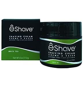 eShave Shave Cream, White Tea, 4 oz.
