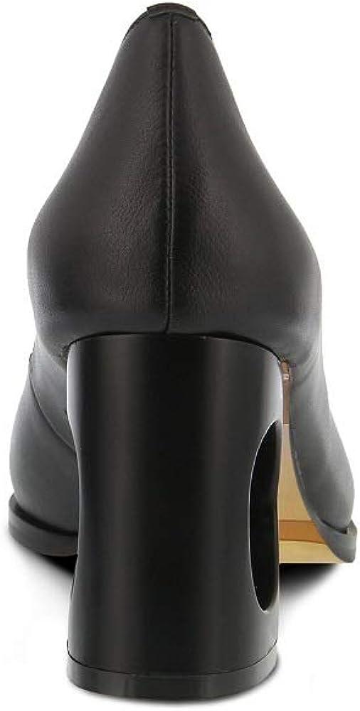 Leather Fashion Color Black Azura Artikeca Shoes
