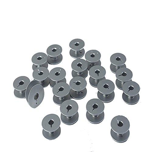 HONEYSEW 20PCS Metal Bobbins #10079 for Pfaff 145, 146, 191, 242, 445 Sewing Machines