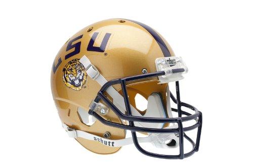 NCAA LSU Tigers Replica XP Helmet - Alternate 1 (Gold) (Tigers Ncaa Schutt Air)