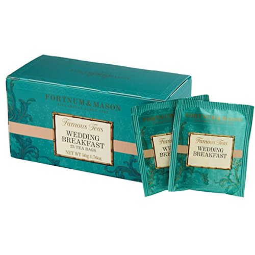 - FORTNUM & MASON, London - WEDDING BREAKFAST - 75 tea bags (3 boxes of 25 bags)