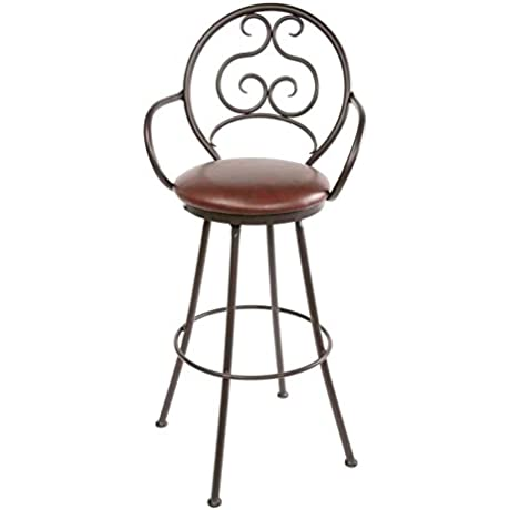 Ranfurlie Swivel Barstool 30 In Std Faux Leather In Outback Ebony 205676 OG 69893 O 280718 OG 142860 O 759917
