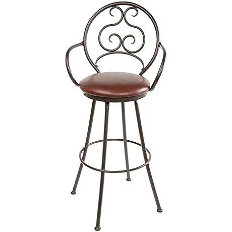 Ranfurlie Swivel Barstool 30 In Std Faux Leather In Emu Espresso 205676 OG 69893 O 280724 OG 142860 O 759917