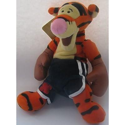 """Disney Bean Bag Plush Tigger as a Boxer 9"""": Toys & Games"""