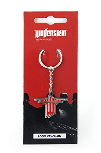 Wolfenstein Keychain Logo (Wolfenstein Ii The New Colossus Voice Actors)