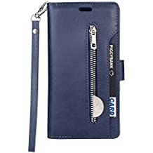 PU Leather Flip Cover Compatible with Samsung Galaxy S20, Card Holders Kickstand Extra-Protective Wallet Case for Samsung Galaxy S20