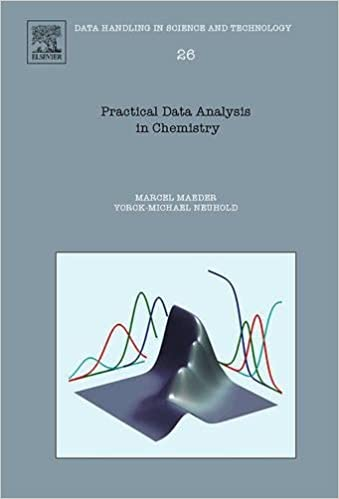 Amazon.com: Practical Data Analysis in Chemistry, Volume 26 (Data Handling in Science and Technology) (9780444530547): Marcel Maeder, Yorck-Michael Neuhold: ...
