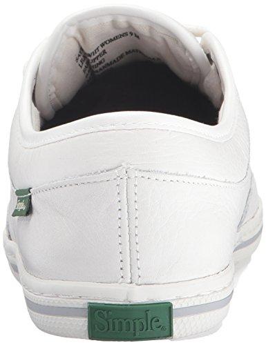 Fashion Women's Satire White l Simple Sneaker pAtZqqdx