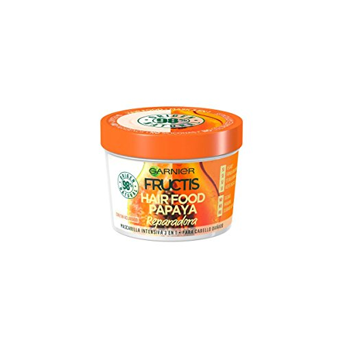 Fructis Hair Food Papaya Mascarilla Cabello Dañado 390 Ml