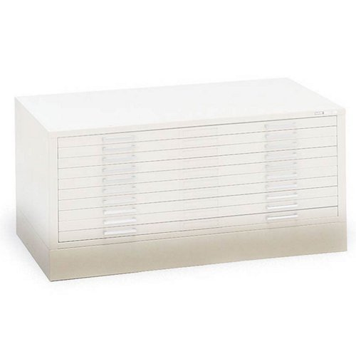 C-Files: Flush Base Color: Gray, File Cabinet Size: For 30