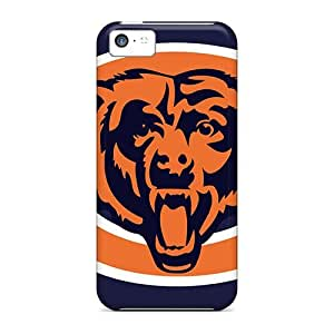Hot Fashion UPL644ebrR Design Case Cover For Iphone 5c Protective Case (chicago Bears)