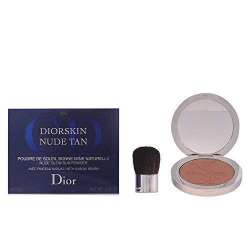 Christian Dior Nude Glow Sun Powder Kabuki Brush, # 005 Caramel, 0.35 Ounce Christian Dior Scrub