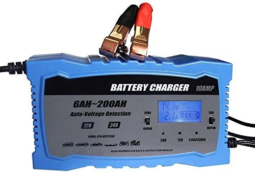 ZUEN Cargador de batería de Coche rápido Inteligente de 24 V ...