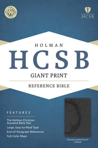 Download HCSB Giant Print Reference Bible, Charcoal LeatherTouch Indexed pdf