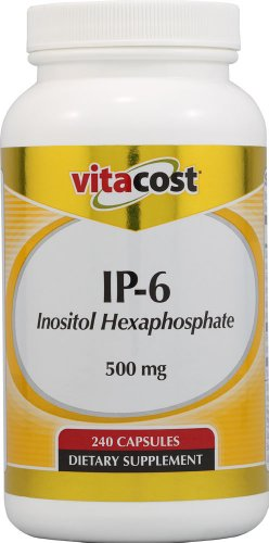 Vitacost IP-6 Inositol Hexaphosphate -- 500 mg - 240 Capsules