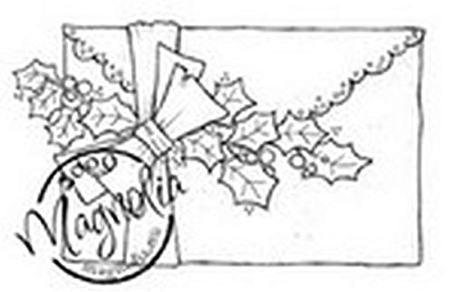 Magnolia Stamps - So Jolly Collection - Holly Letter