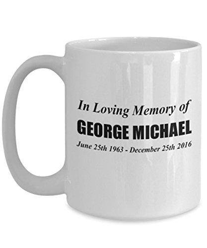 In Loving Memory of George Michael Coffee Mug - George Michael (George Mug)