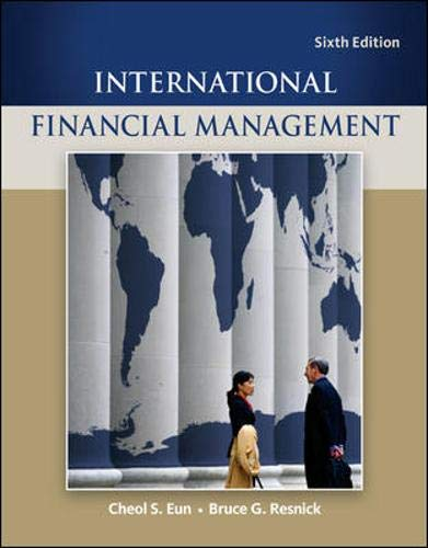 International Financial Management (Mcgraw-hill/Irwin Series in Finance, Insurance, and Real Estate) (Best International Real Estate)