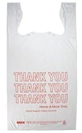 Prime plastics jumbo t shirt thank you plastic for Jumbo t shirt bags