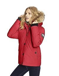 Alpinetek Women's Short Down Bomber Parka Coat