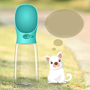 Botella de agua portátil para perros, dispensador de agua para mascotas Antibacterial Food Grade prueba