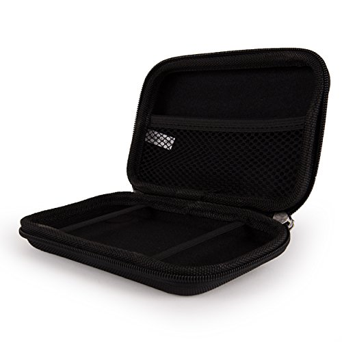 Vangoddy Premium Hard Shell Nylon Black Protective Case for Voice Caddie Swing SC100 and SC200 Swing Caddie by Vangoddy (Image #2)
