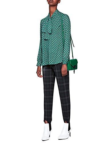 Mujer Morado Erin Camisa Estampado Jeans Pepe Verde wqnCHXYx