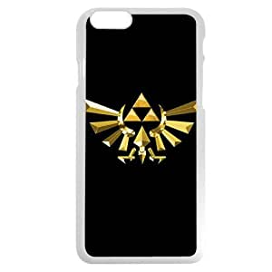 UniqueBox - Customized White Hard Plastic iPhone 6 4.7 Case, The Legend of Zelda iPhone 6 case, Only fit iPhone 6(4.7 Inch)
