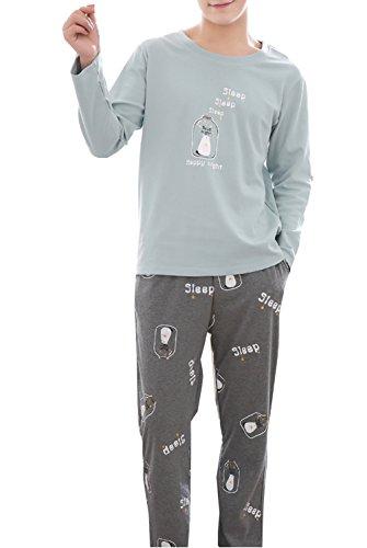 Fleece Pajama Boys Pants (Big Boys Long Sleeve Pants Pajamas Set Young Teens Sleepwear 10-16 Years)