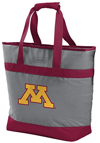 Rawlings NCAA Minnesota Golden Gophers Unisex 07883085111NCAA 30 Can Tote Cooler (All Team Options), Red, X-Large