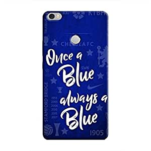 Cover It Up - Chelsea- Once a Blue Mi Max Hard Case