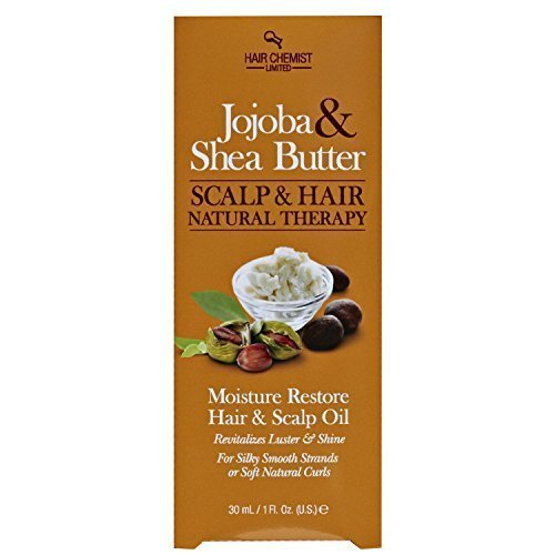 Jojoba and Shea Butter Hair and Scalp Oil