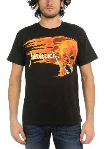 Official Men's Metallica Flaming Sun T-Shirt - S to XXL