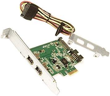 Amazon.com: HP Dual Port Firewire IEEE 1394a PCIe x1 Card ...