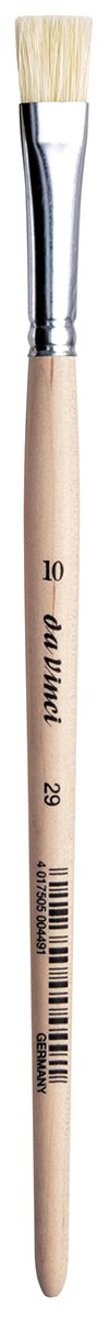 da Vinci Student Series 29 Paint Brush, Flat White