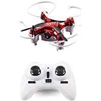 Flymemo Mini L7HW WiFi Real-time 0.3MP FPV Camera RC Quadcopter with Set Height Mode Headless Mode RTF Drone-Red/Black(Random)