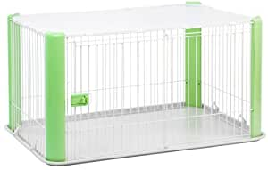 IRIS Wire Pet Cage with Mesh Roof
