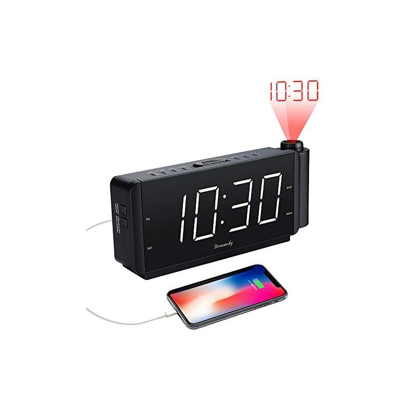DreamSky Projection Alarm Clock Radio wi