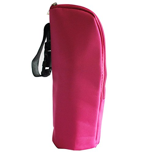 Price comparison product image Tote Bag,  Iusun Baby Thermal Feeding Bottle Warmers Mummy Tote Bag Hang Stroller (Hot Pink)