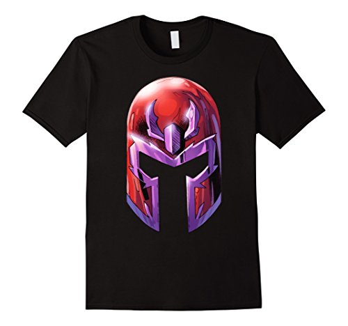 Epic Helmets - Mens Marvel X-Men Magneto Super Epic Big Helmet Graphic T-Shirt 3XL Black