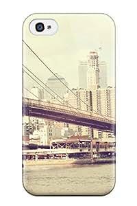 Awesome DcbkahU3209lLvyY ZippyDoritEduard Defender Tpu Hard Case Cover For Iphone 4/4s- Brooklyn Bridge wangjiang maoyi