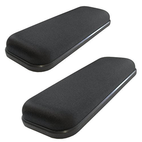 Ergo360 Ultimate Gel Armrests Chair Arm Pads for Office Chairs and Wheelchairs by Ergo360