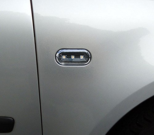 141100501 - Faros intermitentes laterales, LED, color negro: Amazon.es: Coche y moto