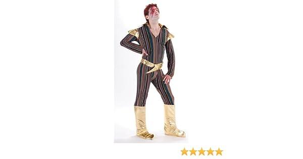 cc Ziggy Stardust Disfraz Adulto: Amazon.es: Juguetes y juegos