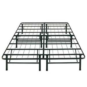 Boyd Specialty Sleep Sure Sleep Queen Platform Bed Frame Steel Height 14inch Provide Ample Room